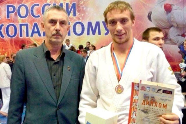 Калининградец Алексей Волков выирал «бронзу» Кубка РФ по рукопашному бою.