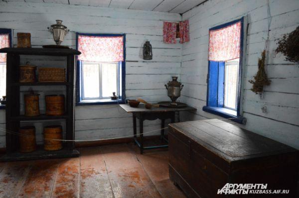Так изнутри выглядит дом зажиточного шорца.