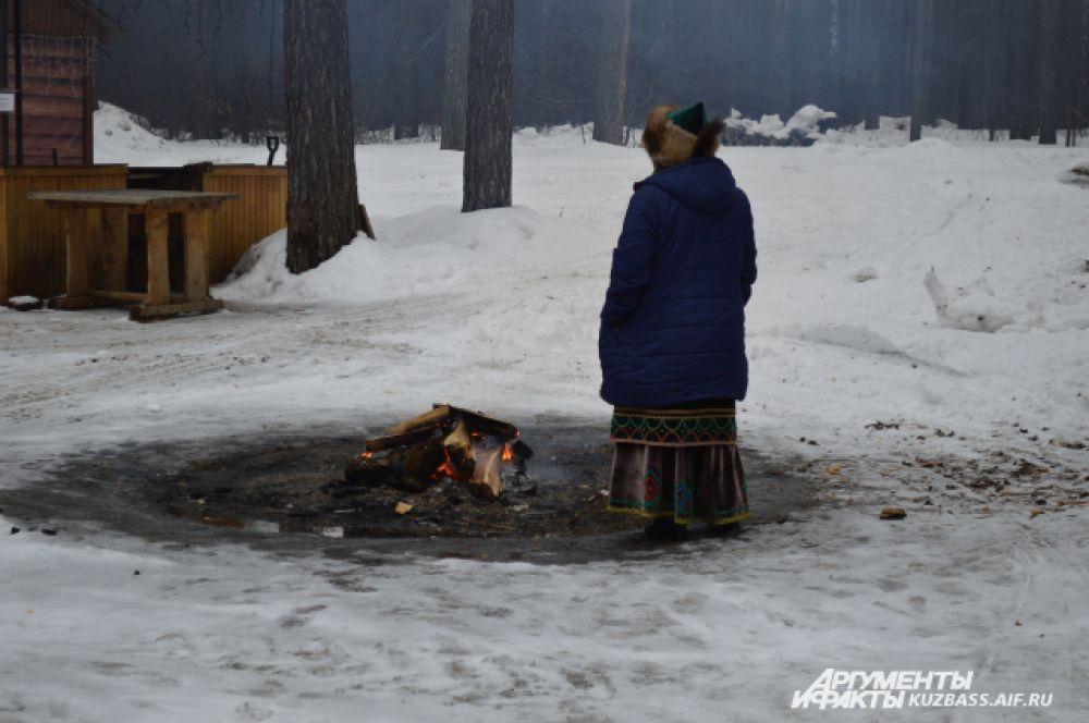 Необыкновенная этническая атмосфера наполняла, казалось, даже воздух в Томской писанице.