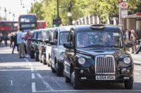 Такси в Лондоне.