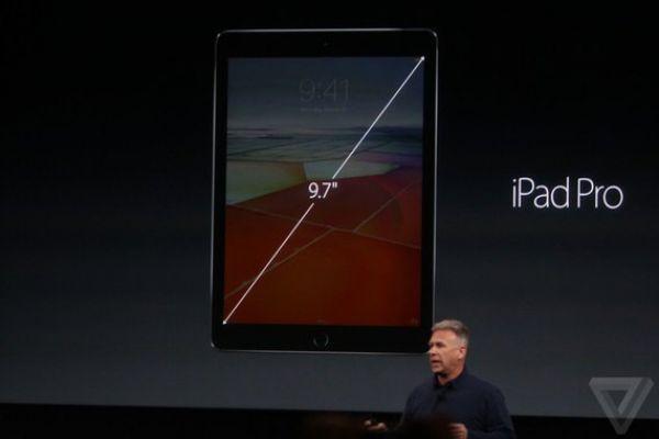 маленький iPad Pro, 9,7 дюймов.