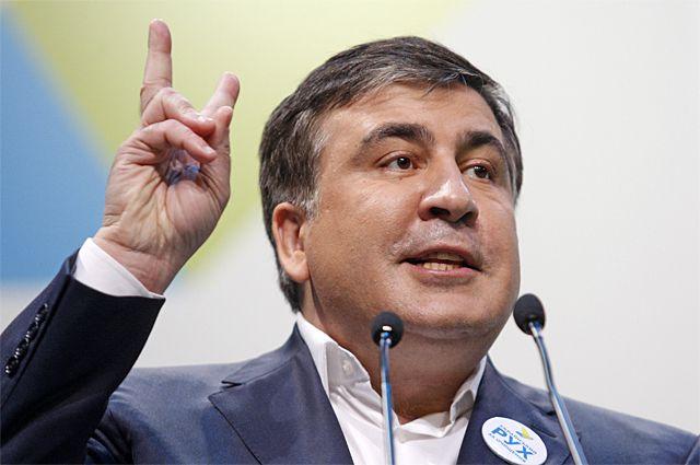 Бывший президент Грузии и нынешний губернатор Одесской области Михаил Саакашвили.
