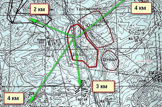 Нешуточный переполох вызвала карта у жителей посёлка, ведь официальной информации нигде не было.