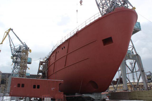 В Калининграде заложили новое исследовательское судно для Минобороны РФ.