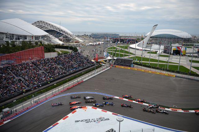 В октябре в Сочи впервые прошло Гран-при «Формулы 1».