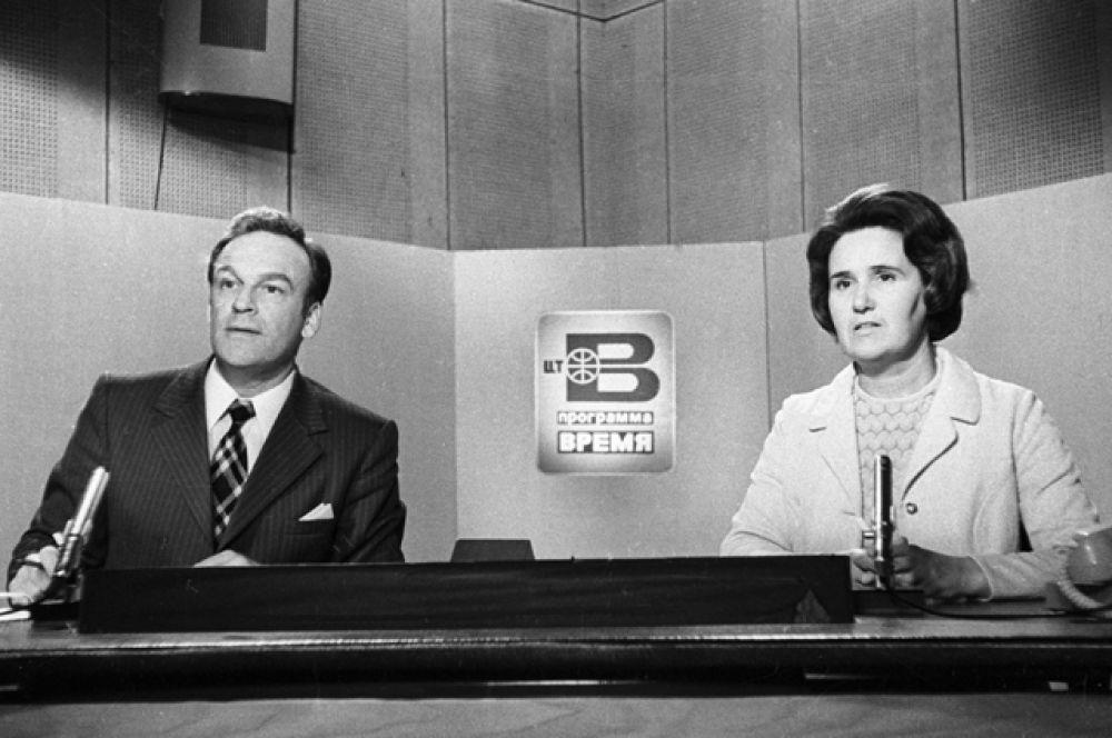 Игорь Кириллов был диктором с 1957 года, вёл передачи «Песня года» в паре с Анной Шиловой, , вечерний канал «ВИД представляет», а также более 30 лет являлся бессменным диктором программы «Время». Вместе с ним с 1958 года передачу вела Нонна Бодрова.
