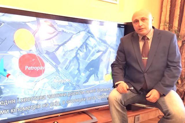 Юрий Антипов. Кадр из фильма