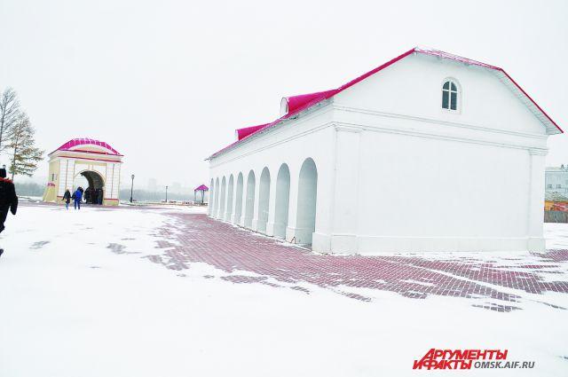 Со дня на день в «Омской крепости» начнётся реконструкция.