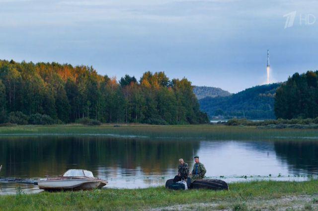 В Архангельской области в XXI веке всё стабильно: ракеты летают, мужики ловят рыбу.