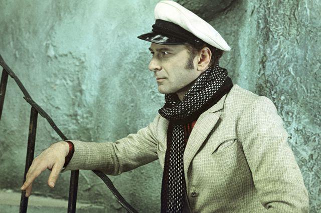 Арчил Гомиашвили в роли Остапа Бендера.