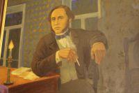 Таким запомнили вятчане молодого Салтыкова. Автор картины: А.Потехин, репродукция