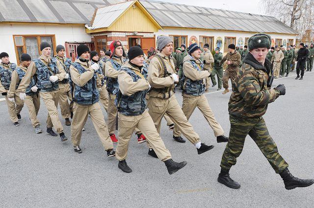 Служба в армии молодёжь уже не пугает.
