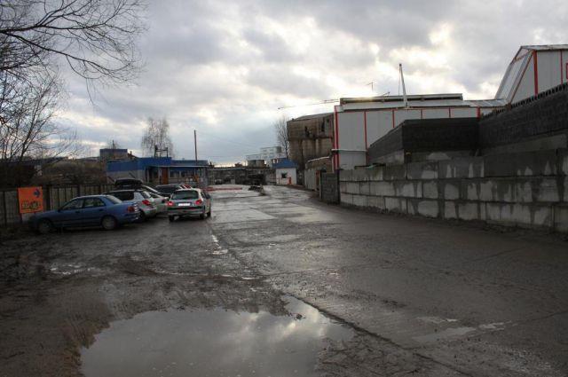 Окрестности стадиона «Локомотив».