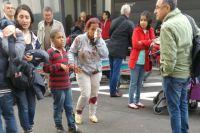 Пострадавшие во время теракта в Брюсселе.