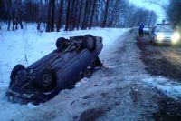 Водителя с травмами доставили в больницу.