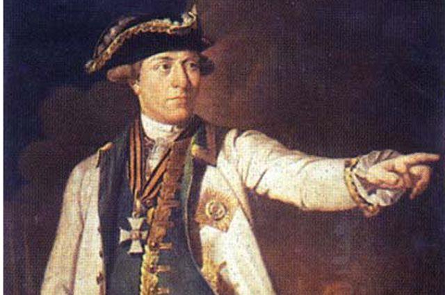 Самуил Грейг на портрете Н. Аргунова.