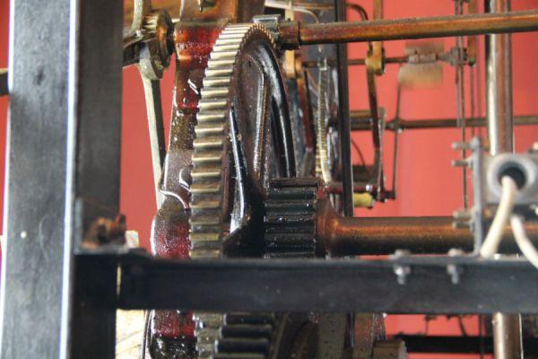 Механизм главных ульяновских часов производства фирмы