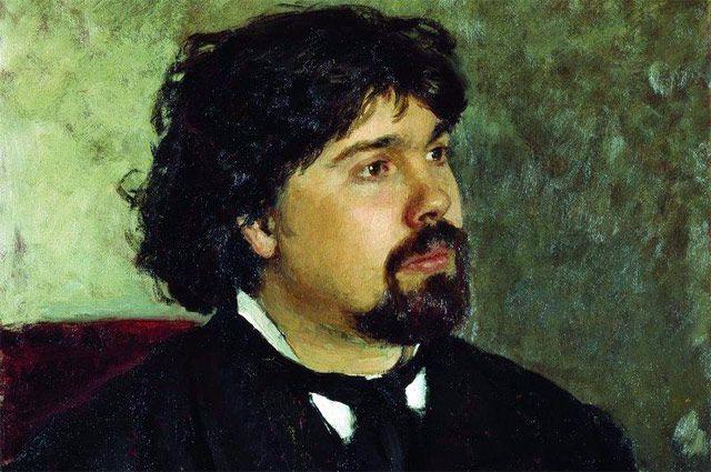 Портрет В. С. Сурикова. Илья Репин, 1877 год.