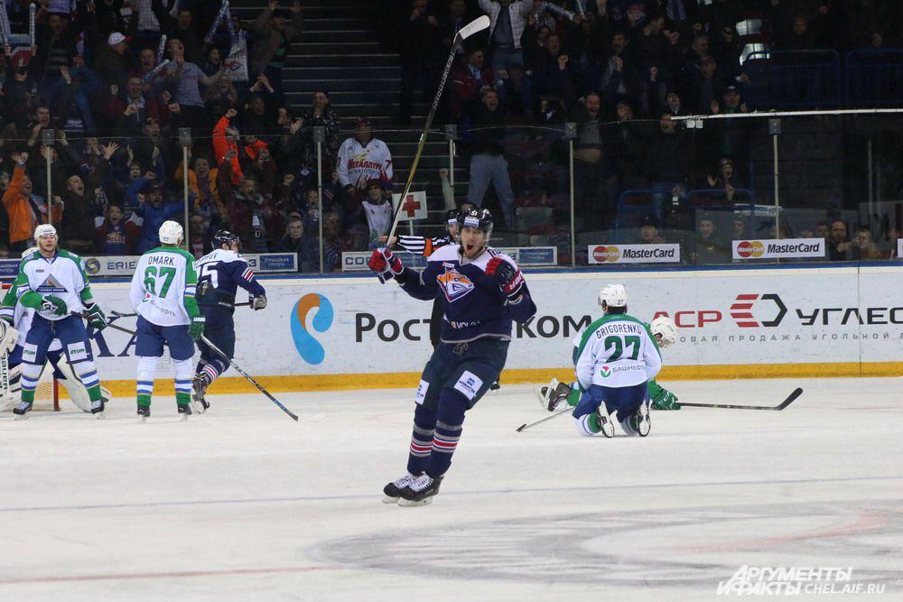 Второй матч серии также состоится в Магнитогорске 25 марта, а следующие две игры команды проведут в Уфе.