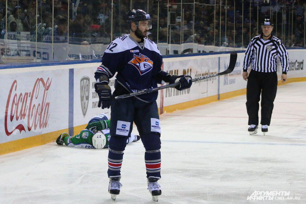 Решающая шайба Сергея Мозякина оказалась в воротах «Салавата Юлаева» только на 90-й минуте с начала матча.