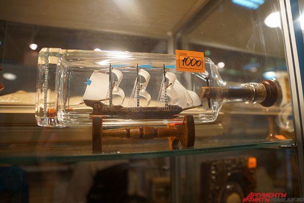 Необычный морской сувенир стоит тысячу рублей.