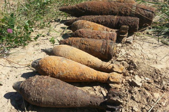 10 мин мин и снарядов ВОВ вывезли из Балтийска саперы Балтфлота.