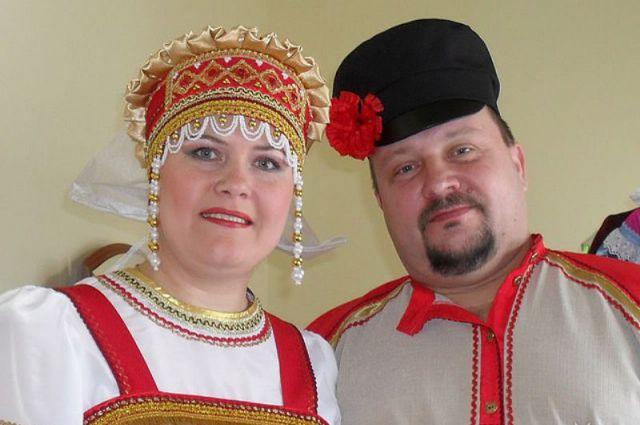 Ольга и Владимир Полетаевы всегда вместе на сцена и дома.