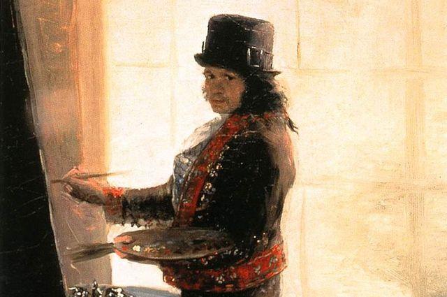 Франсиско Гойя. Автопортрет 1790–95 гг.