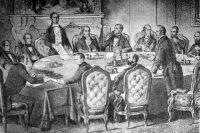 Подписание Парижского мирного договора.