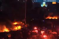 Майдан Независимости 19 февраля 2014 года