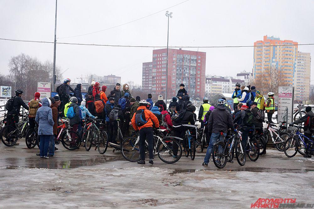 С наступлением весны в Перми начали устраивать разнообразные велопробеги.