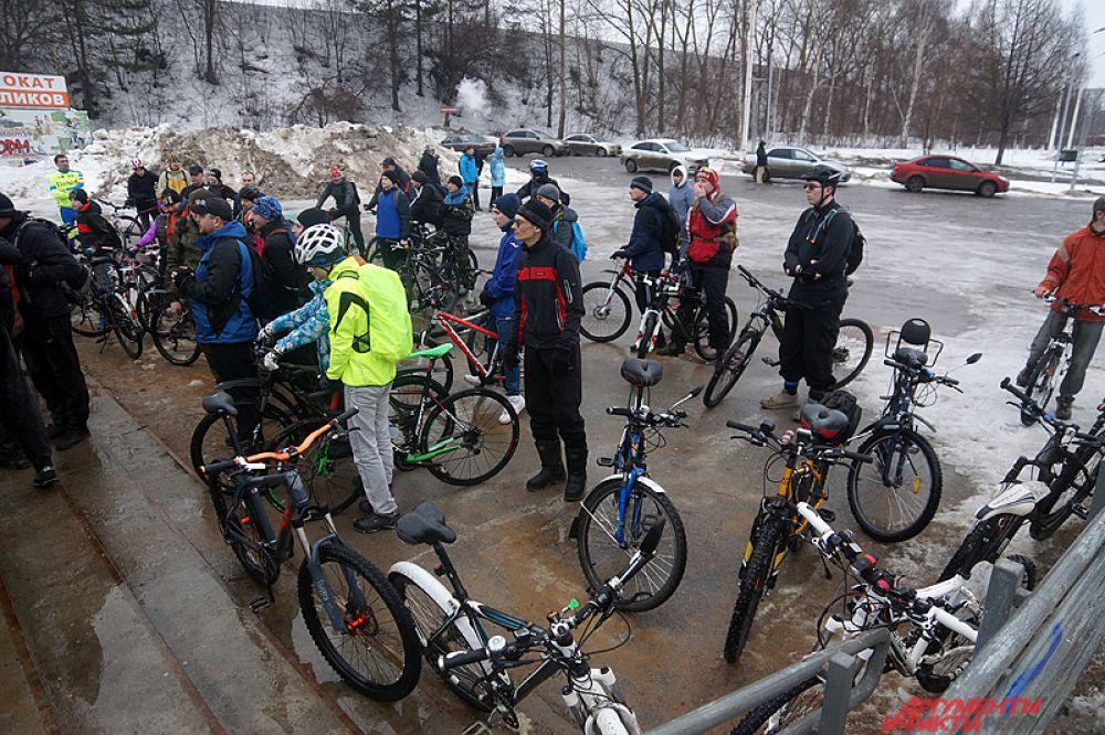 В субботу, 26 марта, в краевой столице состоялся пробег «Велодорожки для велосипедов».
