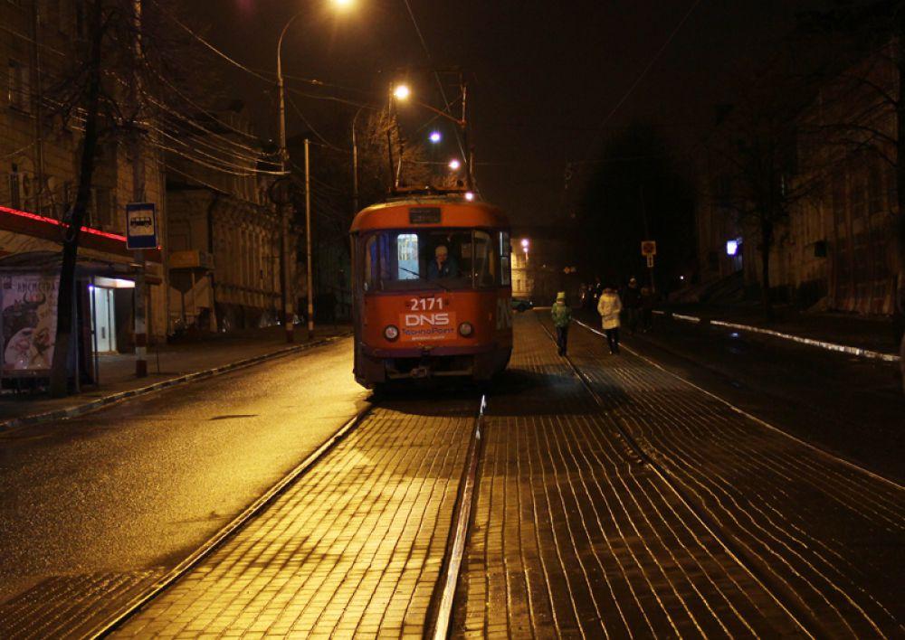 Был даже общественный транспорт