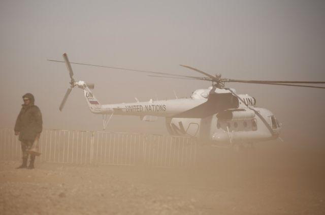 12 человек погибли при крушении вертолета ВВС Алжира