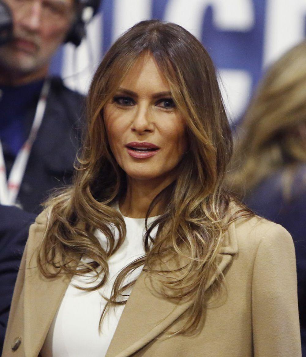 Меланья Трамп - словенская фотомодель, дизайнер наручных часов и ювелирных изделий.