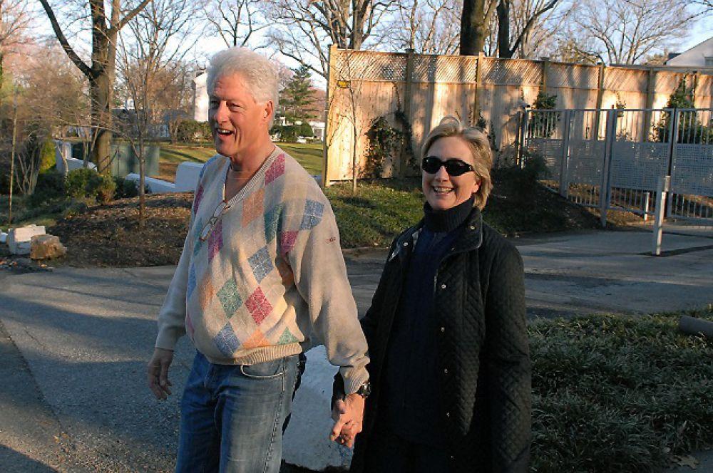 Хилари Родэм и Билл Клинтон поженились 11 октября 1975 г. 27 февраля 1980 г. появилась на свет их дочь, Челси Виктория.