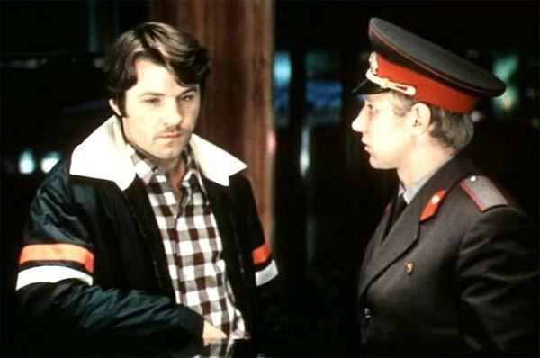 «Три дня в Москве», 1974 год. Роль - командированный в гостинице