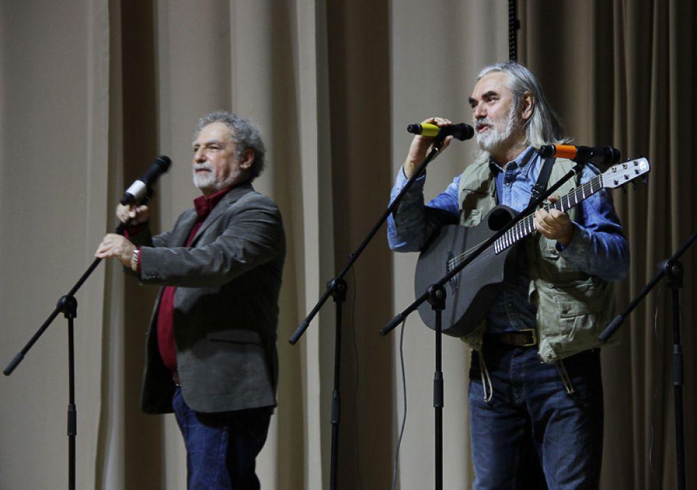 Самые почётные гости – Дмитрий Кимельфельд из Израиля и Дмитрий Бикчентаев из Казани.