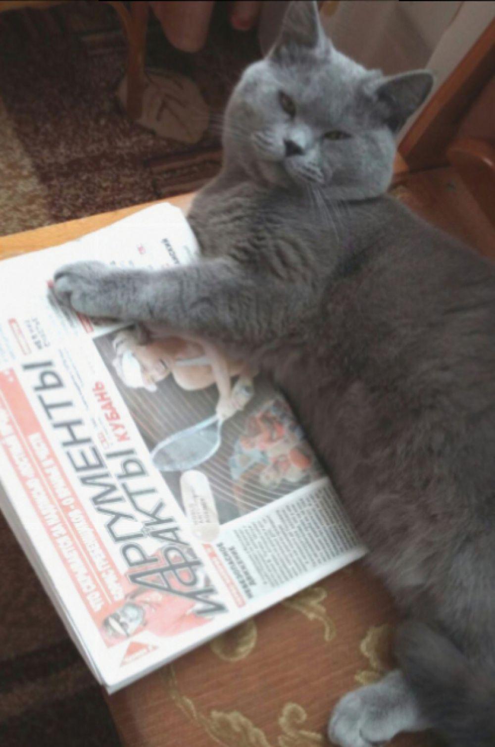 А это любимица нашей читательницы Виктории Божковой.