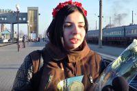 Чемпионка Украины по шахматам Анастасия Рахмангулова.