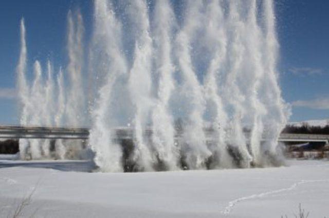 После взрывов лед растает быстрее