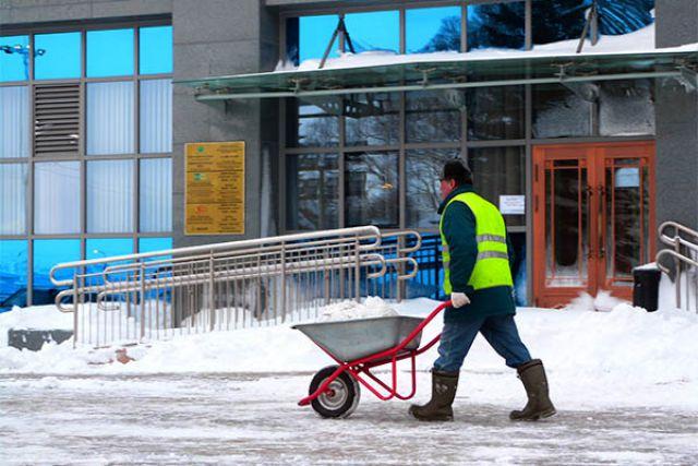 Циклон принесет мокрый снег