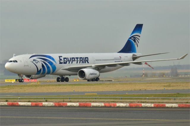 Самолет выполнял рейс из Александрии в Каир