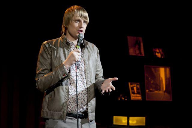 Слава Комиссаренко открывал концерт в Омске.