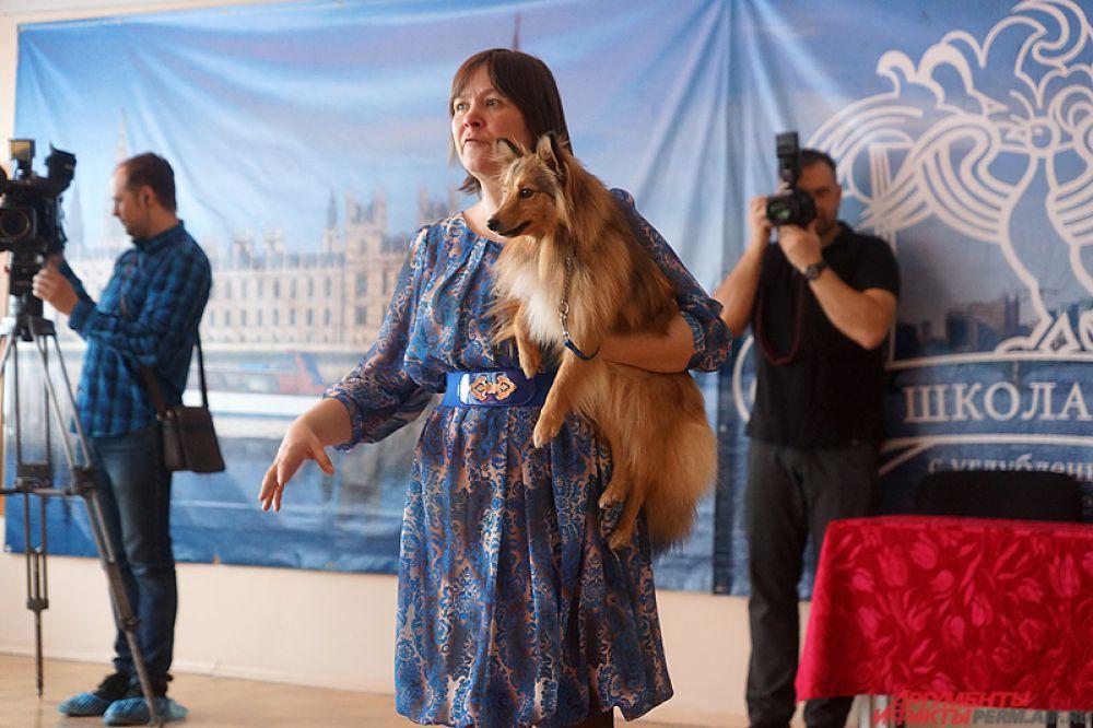 Директор благотворительного собачьего театра Елена Дюкова – один из организаторов фестиваля.