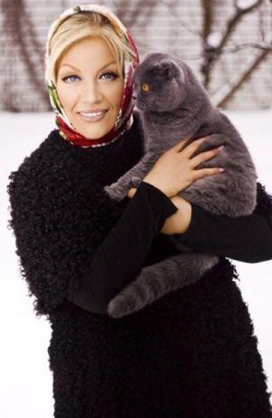 У Таисии Повалий и Игоря Лихуты  живет Британская вислоухая кошечка с простым именем Маруся