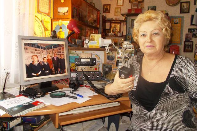 Свой радиолюбительский позывной Татьяна Михайловна получила ещё в середине 90-х годов.