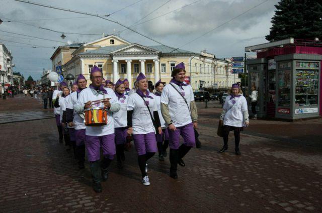 День города на Большой Покровской всегда проходит весело и с огоньком.