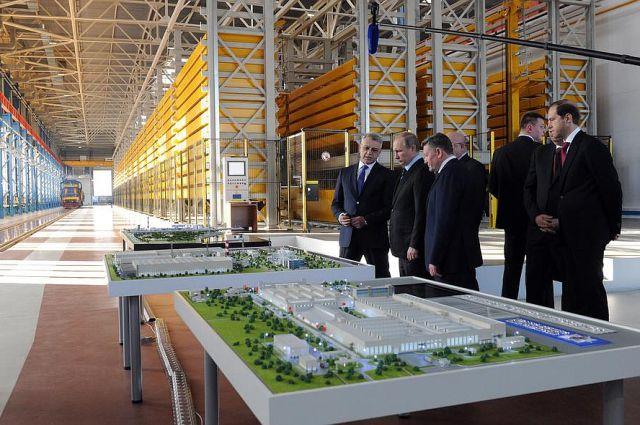 Владимир Путин открыл новое производство средств воздушно-космической обороны.