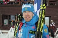 Алексей Волков бежал на последнем этапе.